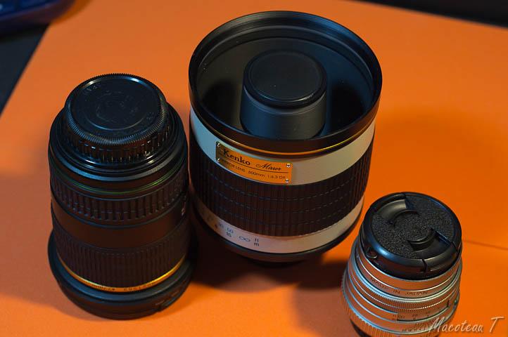 Kenko Mirror Lens 500mm F6.3 DX