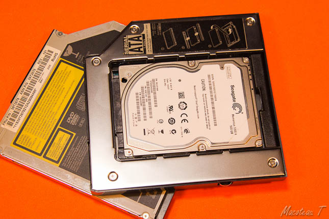 2nd HDD adapter for Ultrabay Slim