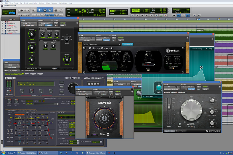 Resonant Filter for Pro Tools