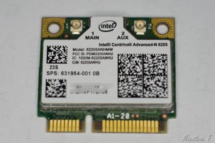 Intel centrino Advanced-N 6205