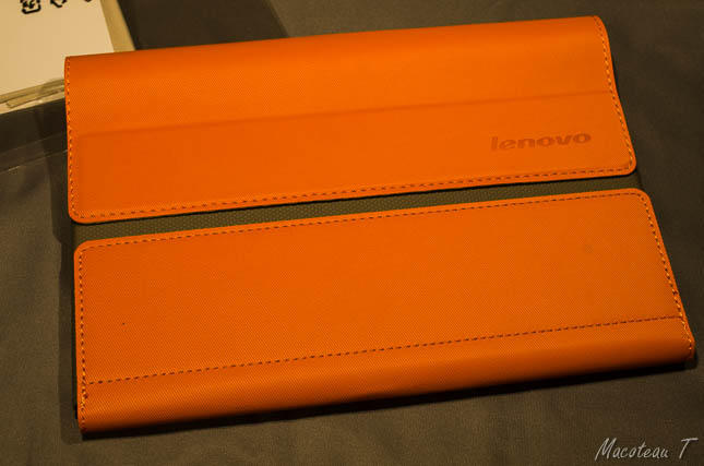 Lenovo Yoga 8 Sleeve (Orange) + Screen Film