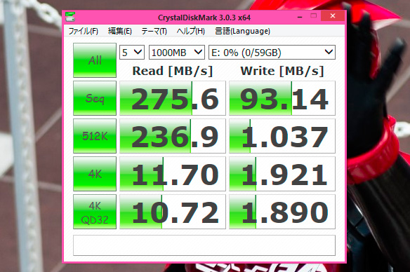TOSHIBA TransMemory-EX UX-A064GT