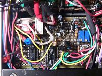 入力セレクタとバランス出力回路,電源回路もね